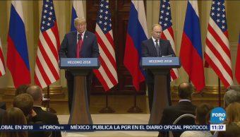 Putin y Trump celebran histórica cumbre en Helsinki