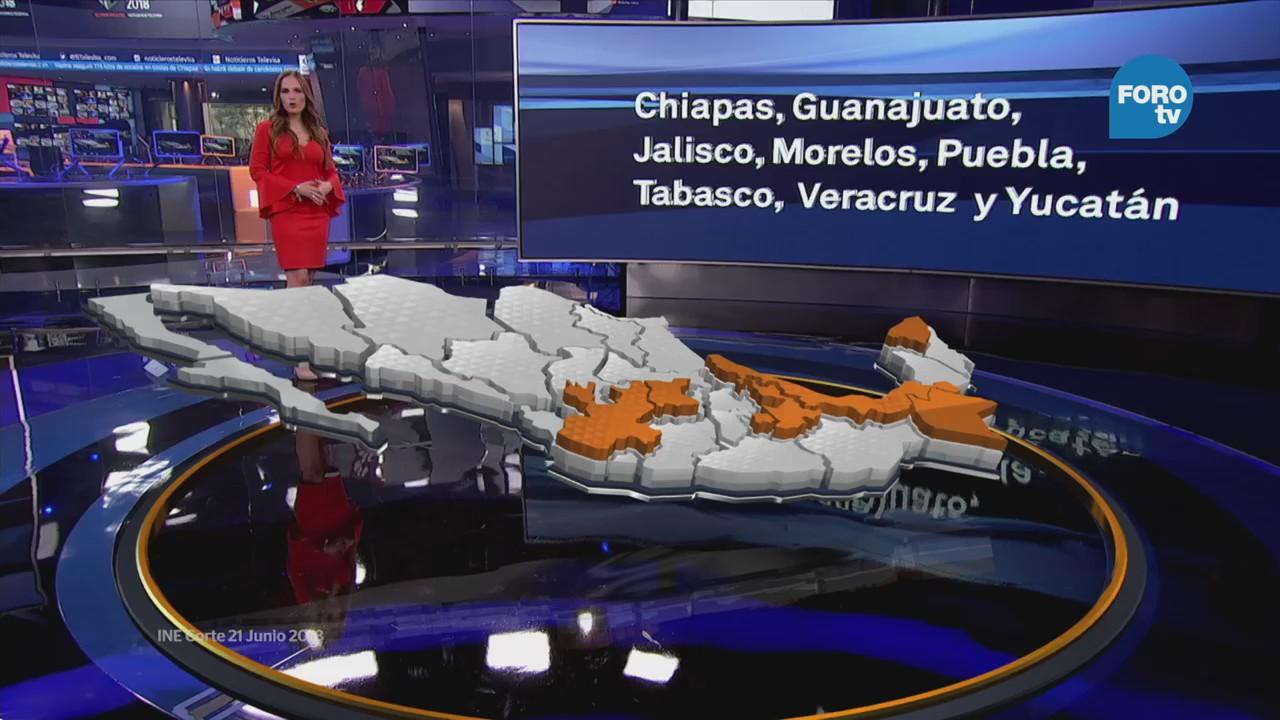 ¿Qué se votará en Chiapas, Guanajuato, Jalisco y Morelos?