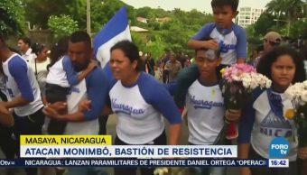 Fuerzas Especiales Nicaragüenses Bombardean Masaya Toman Control