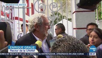 Rector Unam Reúne Amlo Enrique Graue