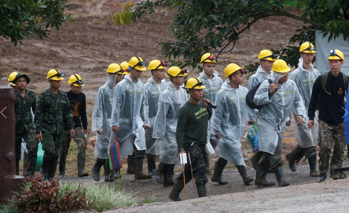 Inician tercera jornada de rescate en cueva de Tailandia