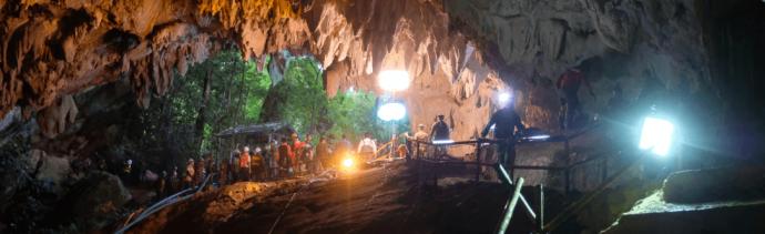 Cómo fue el rescate de los ninos en cueva de Tailandia