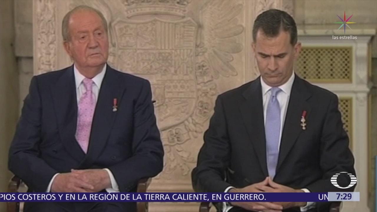Rey emérito Juan Carlos tiene cuentas en el extranjero
