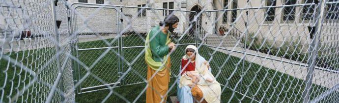 Iglesia Indianápolis Sagrada Familia política migrante Trump
