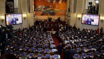 Santos bienvenida Congreso colombiano exguerrilleros FARC