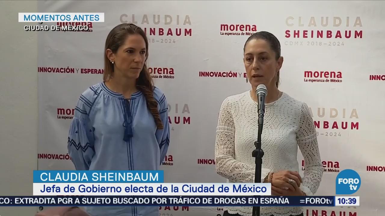Sheinbaum sostiene diálogo con Mariana Boy