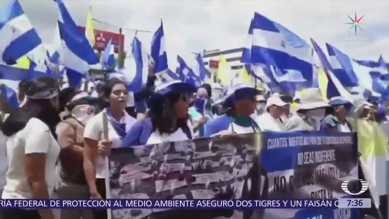 Siguen las protestas contra el gobierno de Daniel Ortega