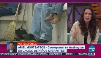 Situación Niños Migrantes Eu Corresponsal Washington, Ariel Moutsatsos