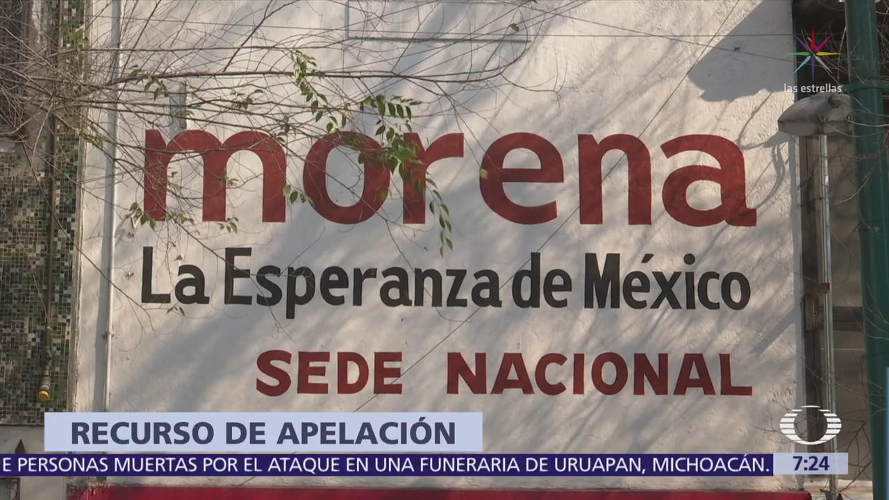 TEPJF recibe apelación de Morena por multa del INE