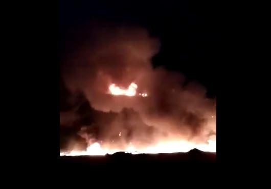 trailer choca y se incendia toluca estado mexico