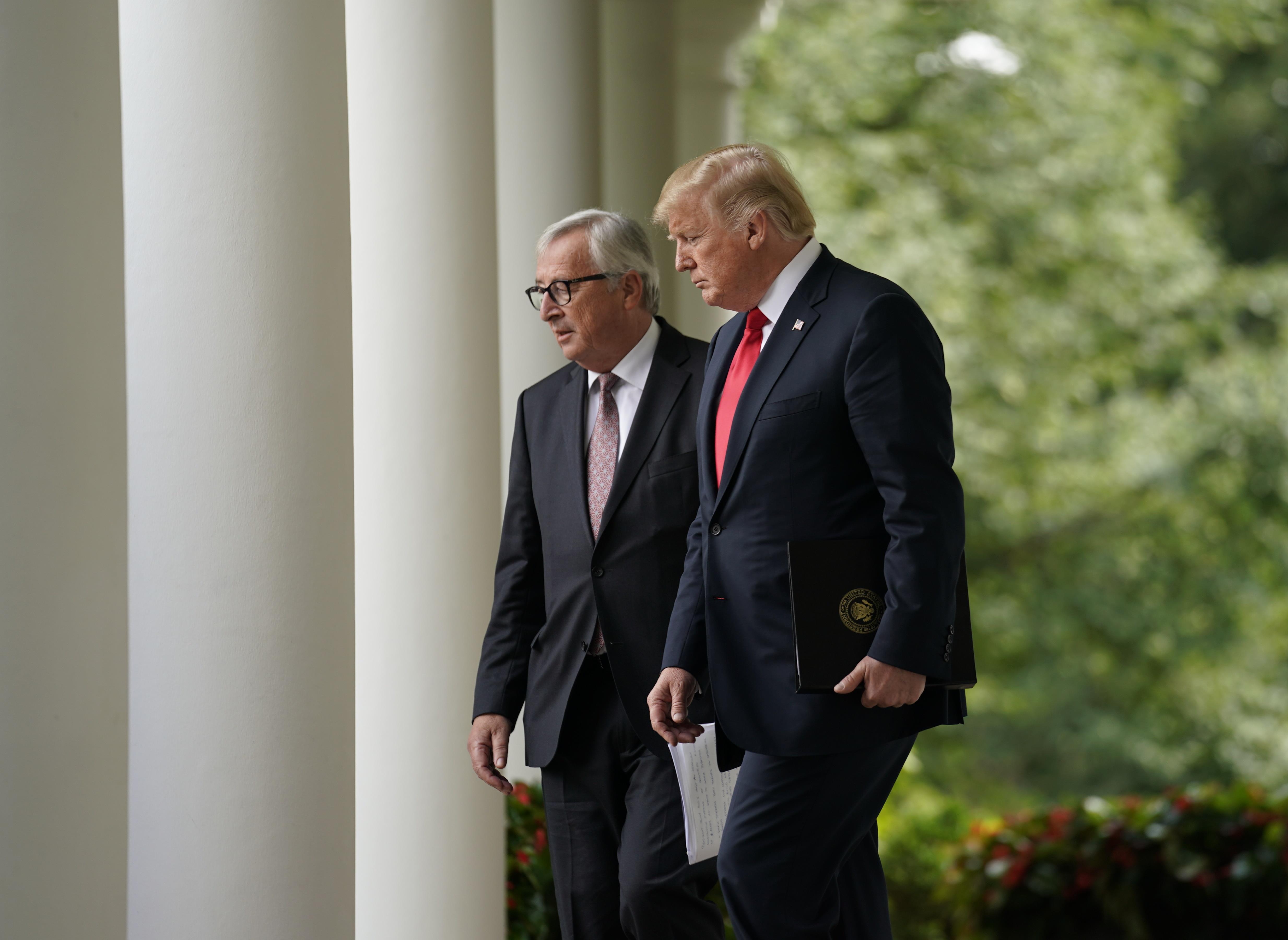 UE y EU tendrán agenda conjunta por comercio libre y justo