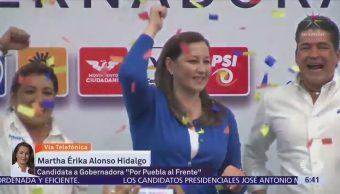 Vamos a defender el triunfo corresponde, Martha Erika Alonso