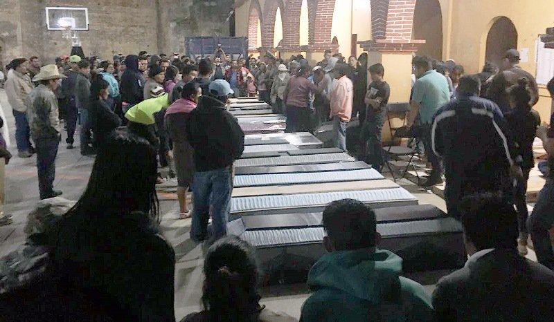 Investigan posible emboscada contra pobladores asesinados de Oaxaca