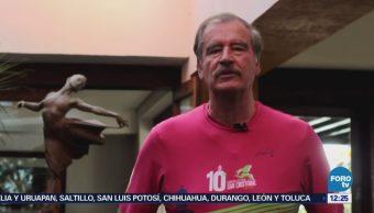 Vicente Fox defiende pensión que reciben