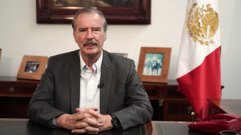Vicente Fox Envía Mensaje A Amlo, Andrés Manuel López Obrador, Vicente Fox Discurso AMLO, Vicente Fox, AMLO, Elecciones México 2018
