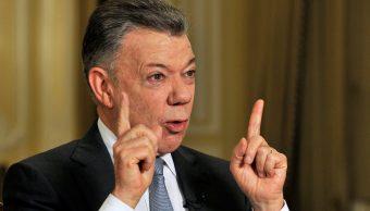 presidencia colombiana dice que acusacion maduro santos carece fundamento