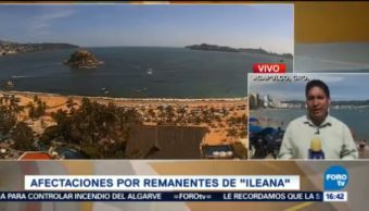 Pesar Oleaje Elevado, Turistas Disfrutan Playas Acapulco