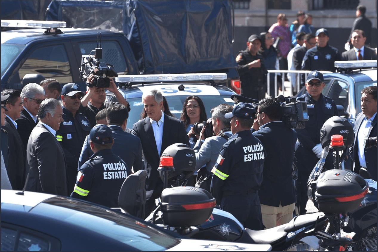 Policía del Estado de México recibe aumento salarial