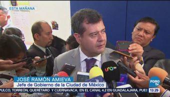 Amieva Garantiza Seguridad Trabajos De Demolición Colegio Rébsamen José Ramón Amieva Jefe De Gobierno De La Cdmx