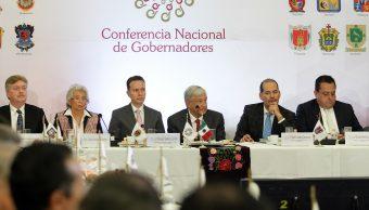 AMLO y Conago hablan sobre presupuesto, seguridad y federalismo