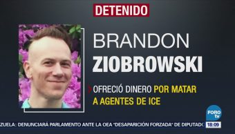 Arrestan a hombre que ofrecía 500 dólares por matar agentes