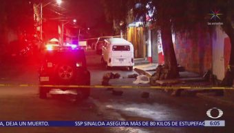 Asesinan a mujer en calles de la delegación Coyoacán, CDMX