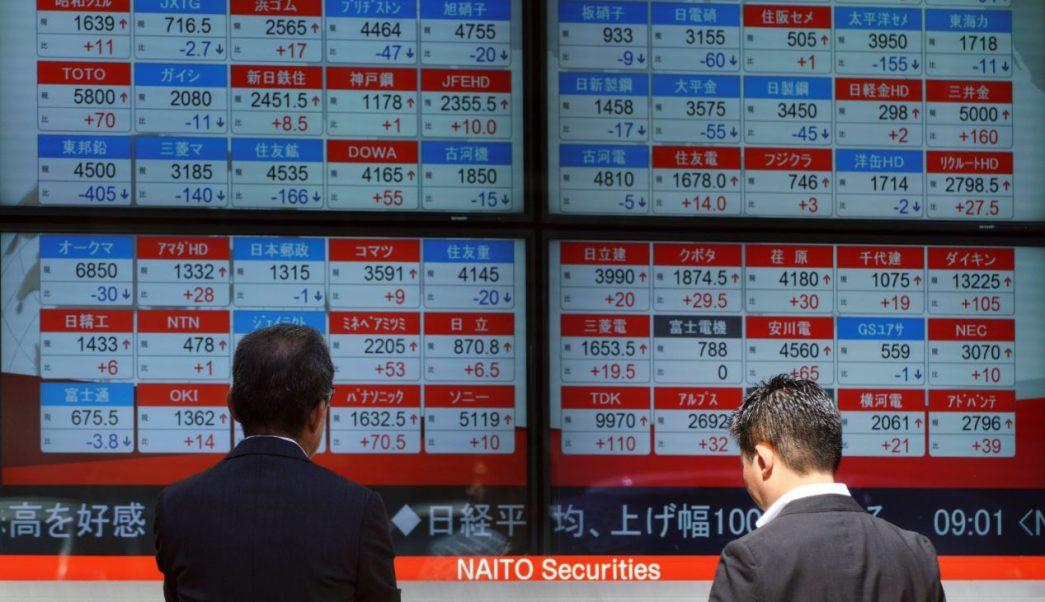 Bolsas de Tokio y China caen ante tensión comercial con EU