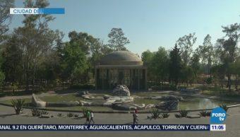 Cárcamo Dolores Homenaje Agua CDMX Cultura