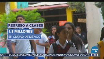 Regresa Clases 100 % Alumnos Educación Básica
