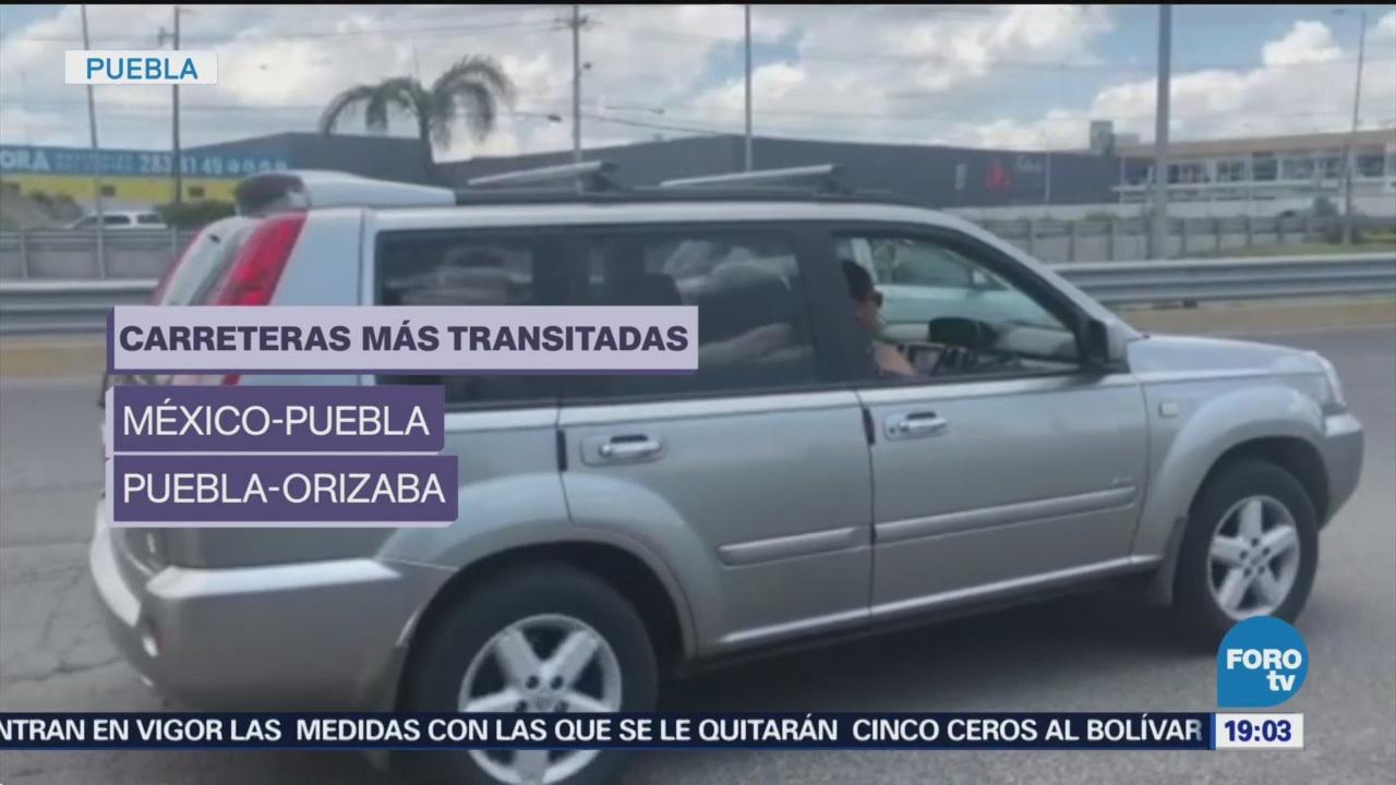 Puebla Aumenta Aforo Vehicular Término Vacaciones