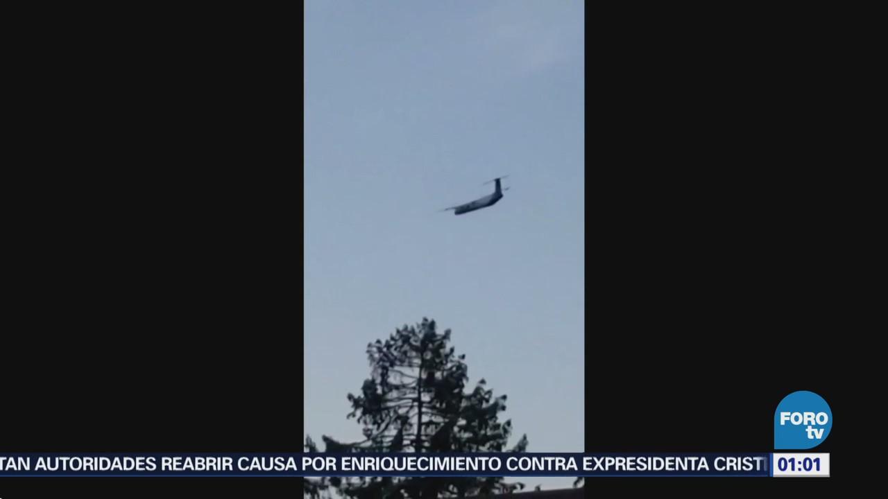 Confirman Robo Avión Alaska Airlines Seattle Estados Unidos