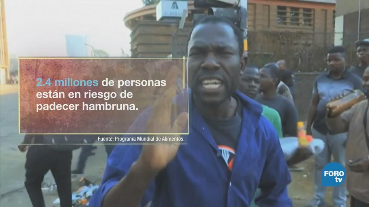 Conflicto postelectoral en Zimbabwe