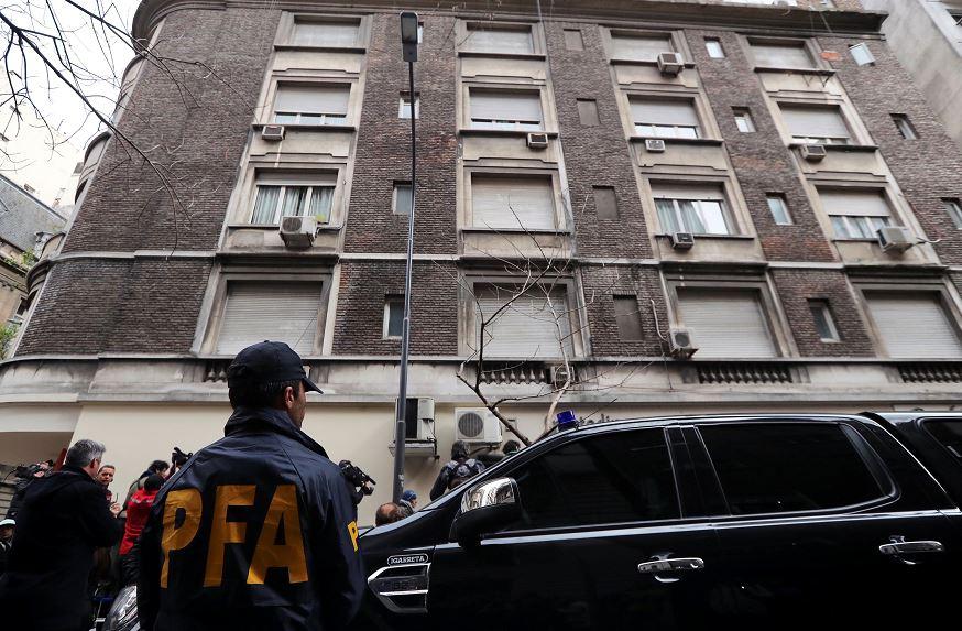 Cristina Fernández de Kirchner: Policía registra apartamento