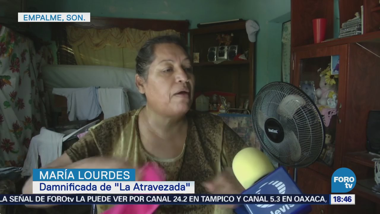 Damnificados en Sonora buscan recuperar algunas pertenencias