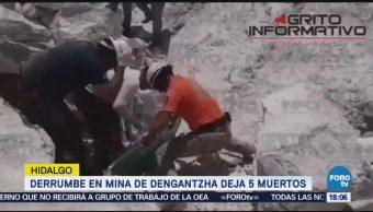 Dengantzha, Hidalgo, deja cinco muertos