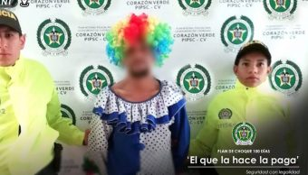 Disfraza payaso cometer abuso sexual