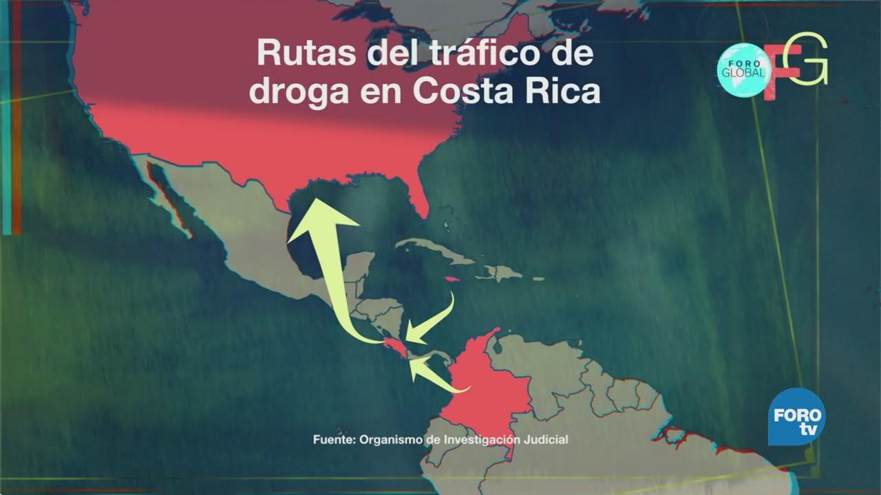 Narcotráfico Llega Costa Rica Aumenta Violencia