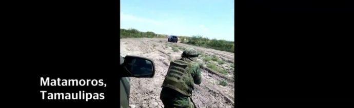 Militar pide 'ser honorable' en enfrentamiento en Matamoros