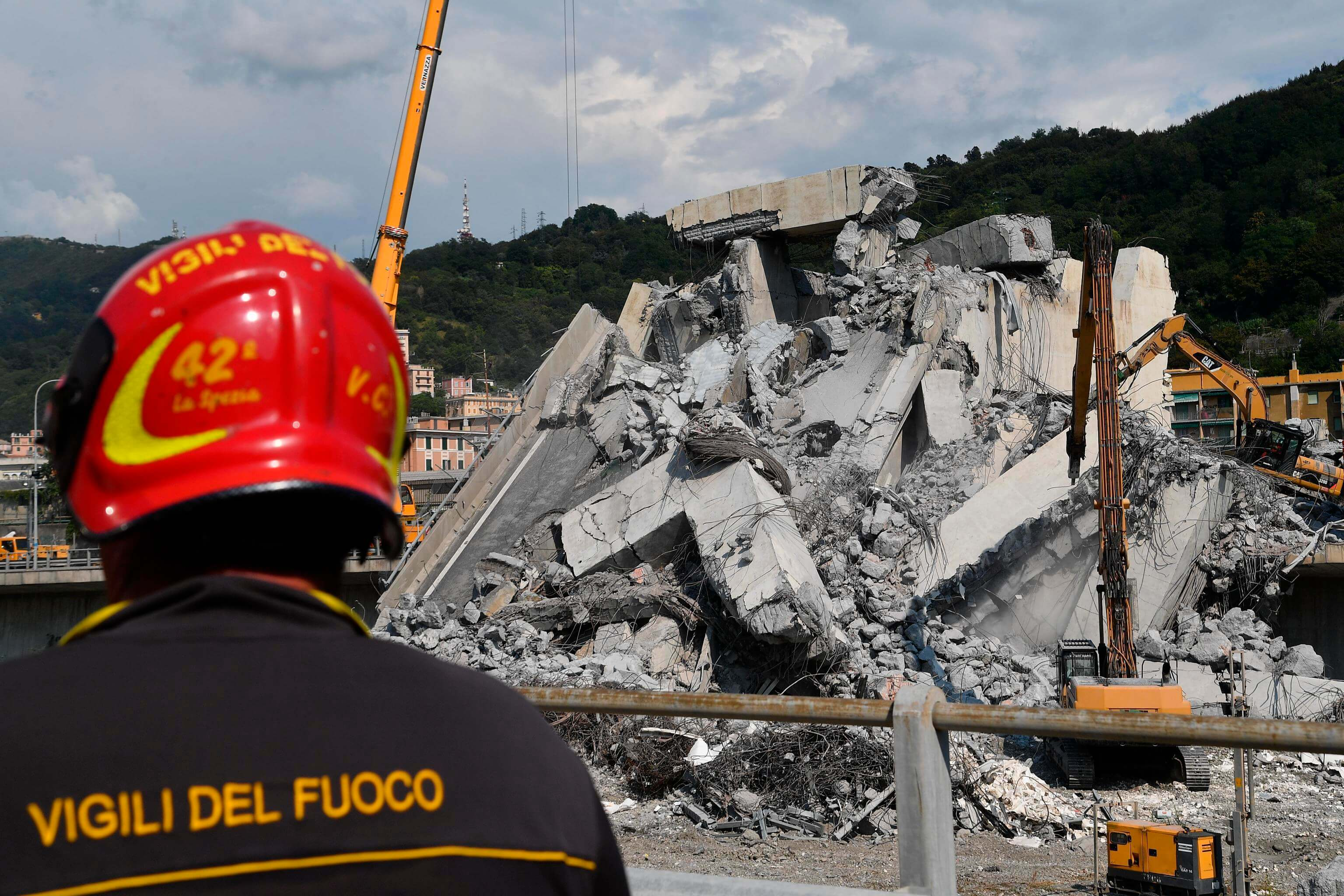 Génova: Sobreviviente del derrumbe de puente relata cómo cayó