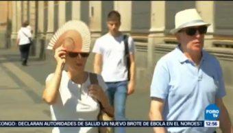 España emite alerta por ola de calor