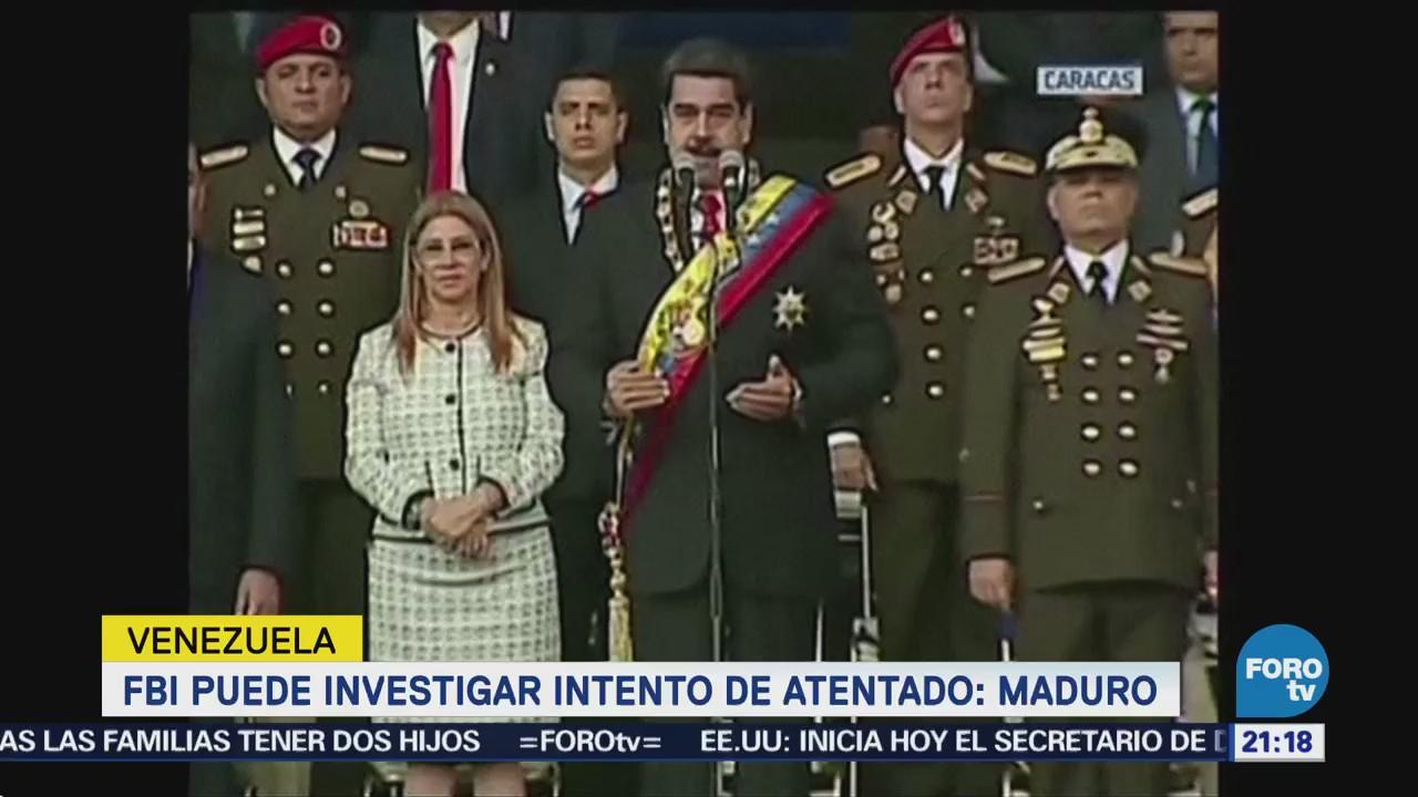 Fbi Puede Investigar Intento Atentado Nicolás Maduro