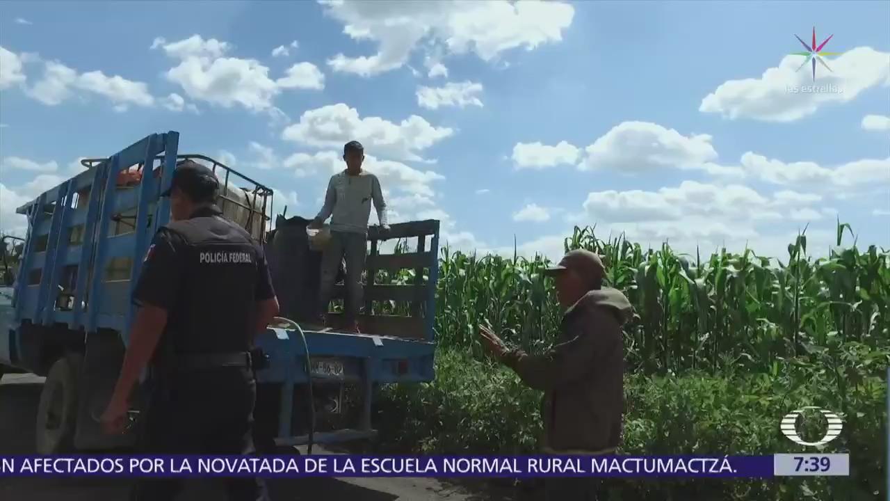 Huachicoleros roban gas LP en Puebla, Tlaxcala y Veracruz