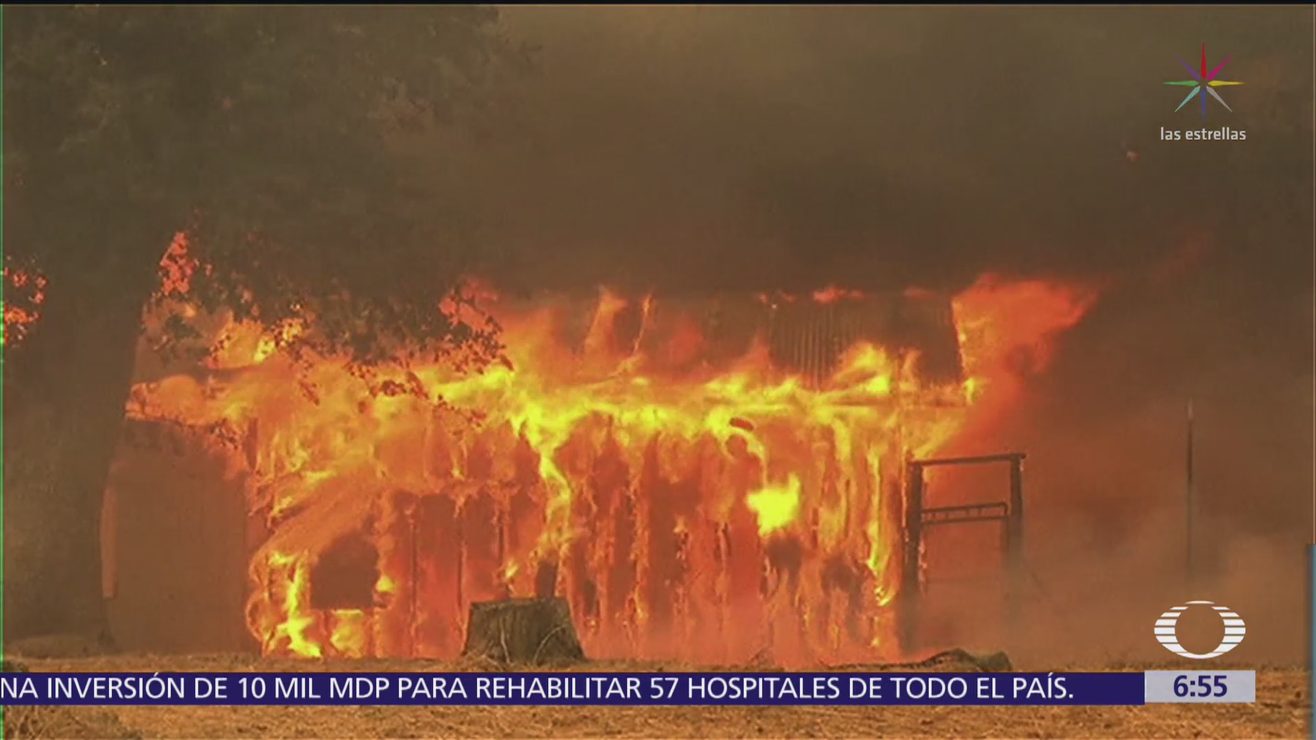 Incendios forestales de California siguen fuera de control