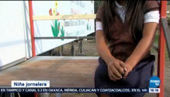 Instalan Aulas Móviles Hijos Jornaleros Colima