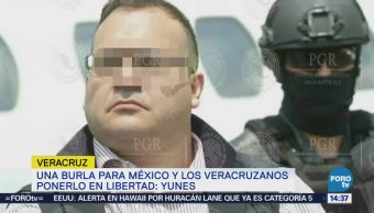 Javier Duarte sería detenido por autoridades de Veracruz