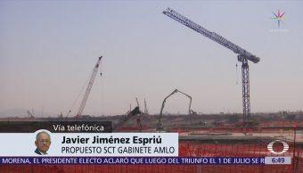 Javier Jiménez Espriú: Falsó que el aeropuerto de Santa Lucía sea absolutamente inviable