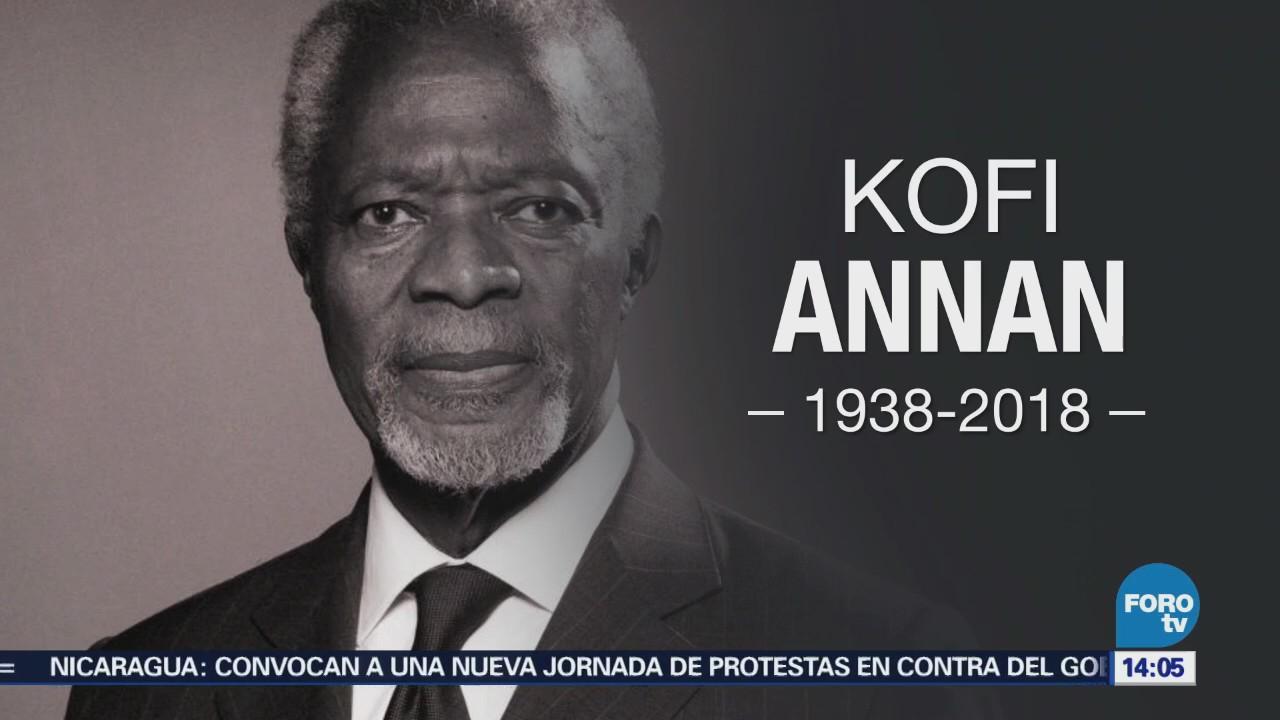 Kofi Annan, Una Vida Dedicada Al Servicio Público Onu Diplomacia Internacional Nació En Ghana En 1938 Aristocrática