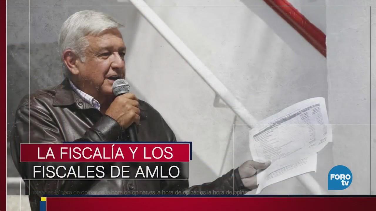 Quiénes son los candidatos de AMLO a la fiscalía