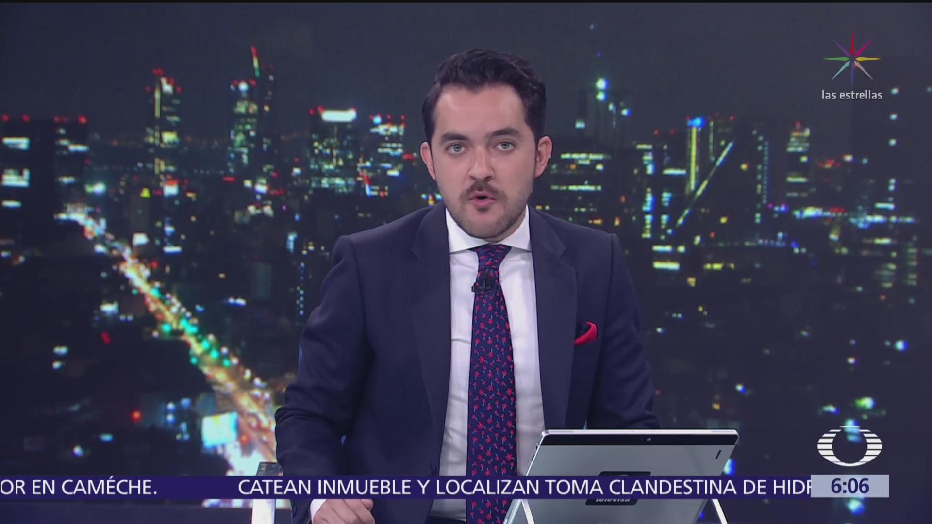 Las noticias, con Danielle Dithurbide: Programa del 1 de agosto del 2018
