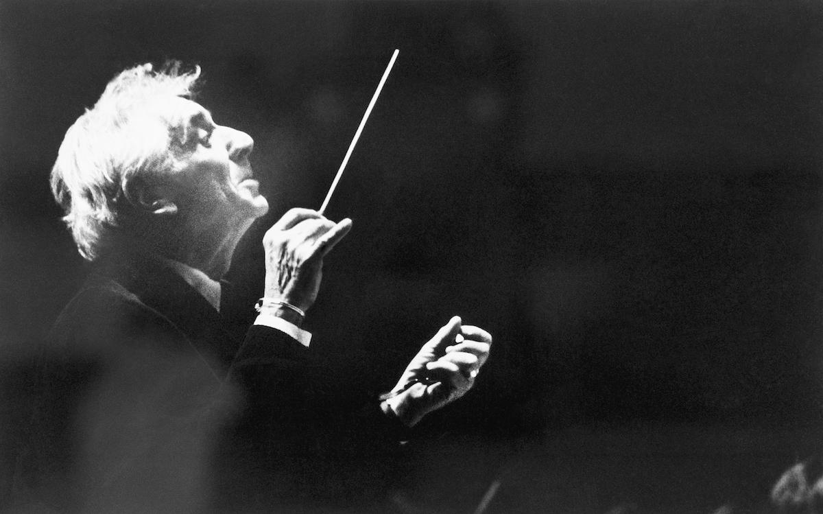 Leonard Bernstein Música Compositor Dirige Orquesta Programa Momentos Carrera